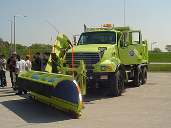 Image of a snow plow